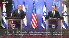 Accordo di Pace Israele-Emirati Arabi, Netanyahu: