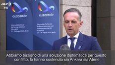 Scontro Turchia-Grecia, il ministro degli Esteri Maas: