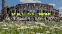 Allarme turismo straniero in Italia, citta' d'arte vuote