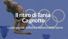 Il ritiro di Tania Cagnotto