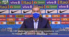 La federazione calcistica brasiliana eguaglia retribuzione e premi per donne e uomini
