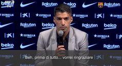Barcellona, Suarez in lacrime per l'addio