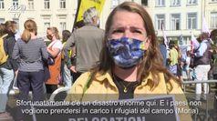 Presidio di Amnesty International davanti al Parlamento europeo