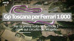 Gp Toscana per la Ferrari a quota 1.000