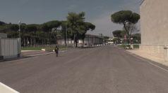 Tennis, nel deserto del Foro Italico senza pubblico cominciano gli Internazionali