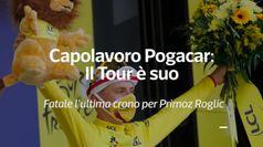 Capolavoro di Pogacar: Il Tour e' suo