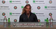 Tennis, Serena si ritira dal Roland Garros