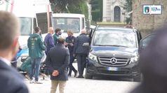 Coronavirus, gli azzurri omaggiano le vittime di Bergamo