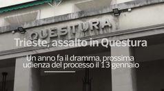 Trieste, assalto in questura: un anno fa il dramma