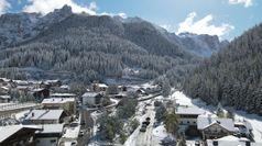 Anticipo d'inverno sulle Dolomiti