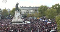 Parigi: Migliaia in piazza per omaggio a insegnante ucciso