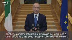 Covid, il primo Ministro irlandese annuncia il nuovo lockdown