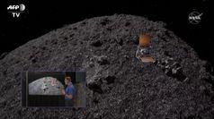 Nasa, la sonda Osiris-Rex atterra sull'asteroide Bennu