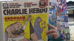 Vignetta su Erdogan, ira di Ankara su Charlie Hebdo