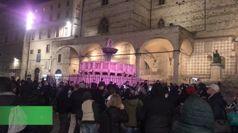 Dpcm, a Perugia esercenti in piazza: