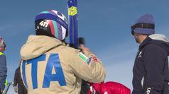 Le star dello sci si allenano in quota. Campioni al lavoro in val Senales
