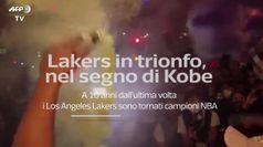 Lakers in trionfo nel segno di Kobe