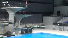 Tokyo, Giochi Olimpici: apre centro acquatico da 15.000 posti