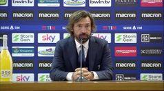 Lazio-Juventus, Pirlo: