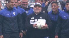 Maradona: da Mano de Dios a Castro, Diego foto per foto