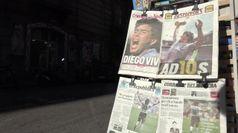 Maradona, il ricordo dei napoletani
