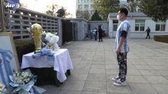 Maradona, anche Pechino si inchina al
