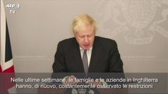 Covid, Boris Johnson: