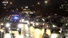 Varsavia, manifestanti bloccano il traffico contro le restrizioni sugli aborti