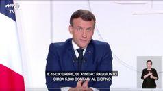 Macron vuole revocare il lockdown: