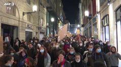 Bordeaux, scontri dopo la protesta contro la nuova legge sulla sicurezza