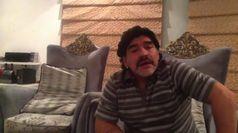 Morto Maradona: il videomessaggio, 'non sono un evasore'