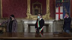 Vasco Rossi riceve il Nettuno d'oro di Bologna