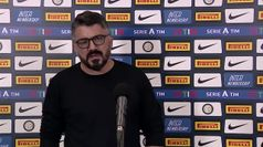 Inter-Napoli, Gattuso: