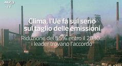 Clima, taglio delle emissioni: