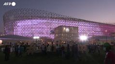 Mondiali 2022, inaugurato con 20 mila spettatori l'ultimo stadio in Qatar