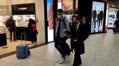 Roma, atterrato a Fiumicino il neo acquisto Brian Reynolds