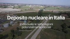 Deposito nucleare in Italia, individuate le sette regioni potenzialmente idonee