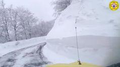 Maltempo, forti nevicate in Garfagnana e montagna pistoiese: rischio valanghe