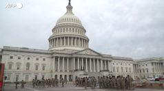 Usa, Guardia Nazionale a presidio del Capitol Hill
