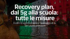 Recovery plan, dal 5g alla scuola: tutte le misure
