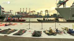 Indonesia, Giacarta: esaminati i detriti recuperati dal luogo dell'incidente aereo