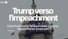 Assalto a Capitol Hill: i dem chiedono l'impeachment per Trump
