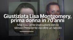 Giustiziata Lisa Montgomery, prima donna in 70 anni