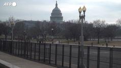 Usa, Campidoglio sorvegliato speciale prima dell'inaugurazione di Biden