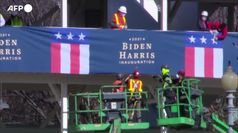 Usa, Washington si prepara per accogliere Biden e Harris