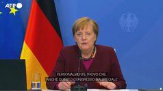 Germania, Merkel spera in un leader moderato alla vigilia del congresso della Cdu