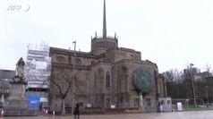 Uk, la cattedrale di Blackburn trasformata in un centro di vaccinazione Covid