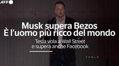 Musk supera Bezos, e' il piu' ricco del mondo