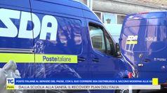 Poste Italiane consegna alle regioni i vaccini Moderna