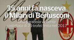 35 anni fa nasceva il Milan di Berlusconi